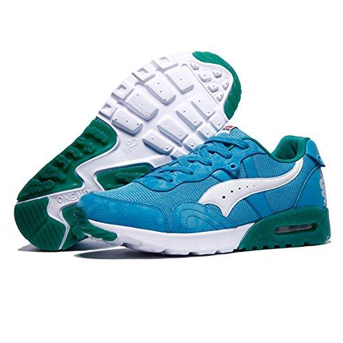 Onemix Unisex Shoes Men's Sneakers Comfortable Leisure Lace Up Profile Sole  Sports Shoes Women's Sneakers Blue White Size 39 EU: Amazon.co.uk: Shoes &  Bags