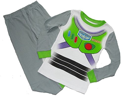 Movie Quality Buzz Lightyear Costume (DISNEY TOY STORY Boy's Size 5 BUZZ LIGHTYEAR Space Ranger Pajama Pants Set)