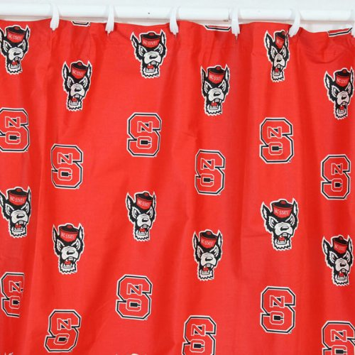 North Carolina State Valance - North Carolina State Wolfpack Curtain Valance from College Covers