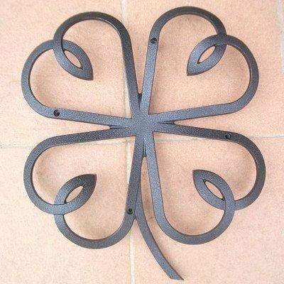 妻飾り クローバーリーフ シンボル アイアン風壁飾り アルミ鋳物 B00SUFIYTQ 23000