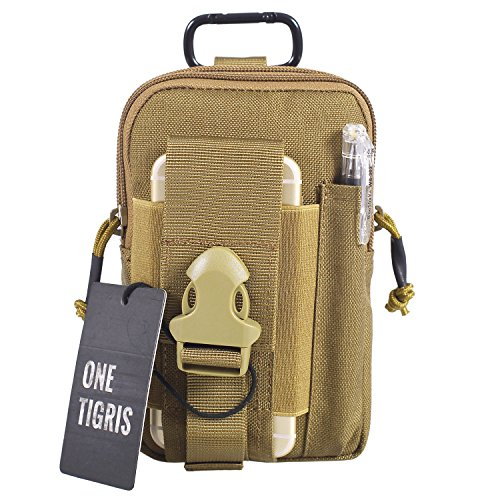 OneTigris MOLLE Pouch Coyote Brown