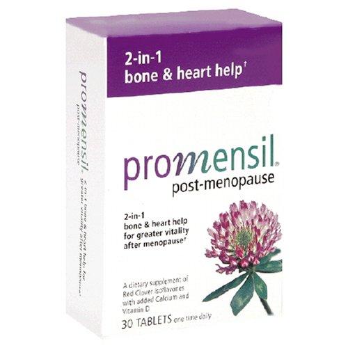 Comprimés Promensil Supplément post-ménopause, 30-Count Box