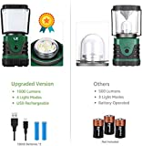 LE LED Camping Lantern Rechargeable, 1000LM, 4
