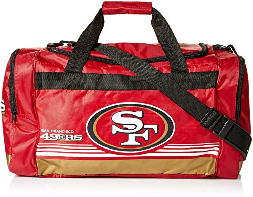 San Francisco 49ers Medium Striped Core Duffle ()