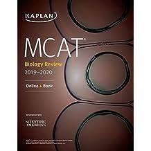 MCAT Biology Review 2019-2020: Online + Book (Kaplan Test Prep)