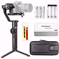 Zhiyun Crane 2 (Gets Free Servo Follow Focus) 3-Axis Handheld Gimbal Stabilizer 7lb Payload OLED Display 18hrs Runtime Toolless Balance Adjustment for Camera Weighing 1.1lb to 7lb Zhiyun Crane-2