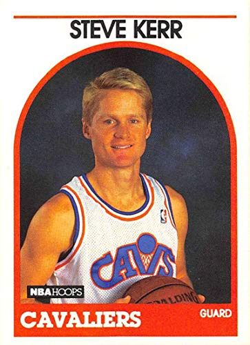 1989-90 Hoops Basketball #351 Steve Kerr RC Rookie Card Cleveland Cavaliers Official NBA Trading Card
