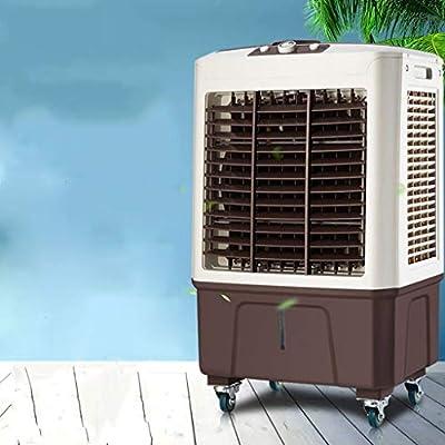 FJZ Enfriador de Aire Ventilador de enfriamiento Industrial Agua de Alta Potencia más Hielo Aire Acondicionado Ventilador de Aire Comercial Purificador de Aire Acondicionado pequeño for Uso doméstico: Amazon.es: Hogar