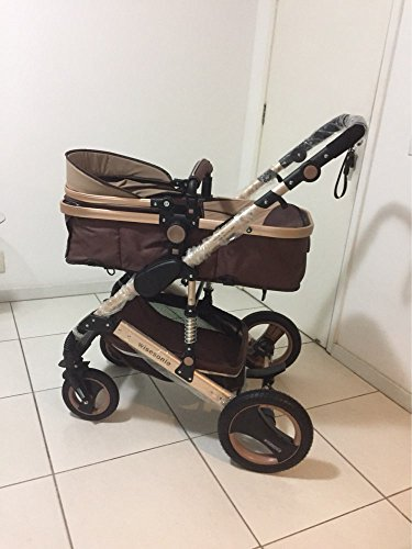 0--36 months baby stroller 2 in 1 stroller lie or damping folding light weight Two-way use four seasons (1) by wisesonle (Image #5)