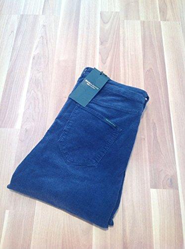 Scotch & Soda Maison Scotch Damen Cord Hose W26 L32 Navy Blau Skinny Neu mit Etikett!