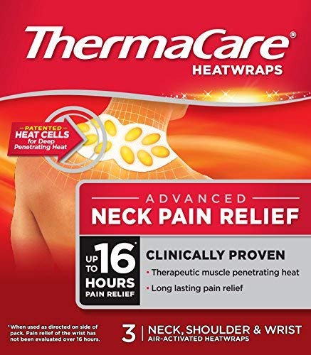 Thermacare Therapeutic Heat Wraps For Pain Relief - Neck,shoulder And Wrist -3 Wraps by ThermaCare