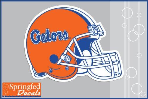 Florida Gators Helmet Decal - Florida Gators CLASSIC FOOTBALL HELMET 4