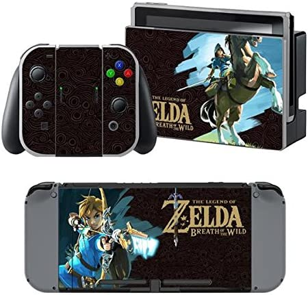 thtb Nintendo Switch + Controller Design Sticker Protector Juego ...