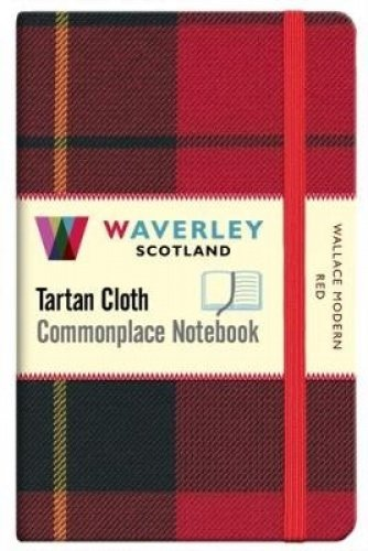 Wallace Modern Red:: Waverley Genuine Tartan Cloth Commonplace Pocket Notebook (9cm x 14cm) (Waverley Scotland Tartan Cloth Commonplace Notebooks/Gift/Stationery/Plaid Stationery items (WZS)) PDF