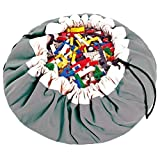 Play&Go Large Children Drawstring Play Mat and Toy Organizer Storage 55