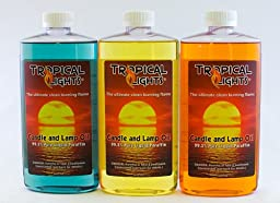 Candle and Lamp Oil (Set of 3) Thanksgiving Collection