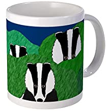 CafePress - Badger Mug - Unique Coffee Mug, Coffee Cup