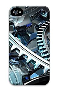 iPhone 4S Case, iPhone 4S Cases - Mechanism Polycarbonate Hard Case Cover for iPhone 4/4S