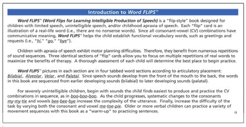 Word flips for learning intelligible production of speech bk318 word flips for learning intelligible production of speech bk318 rhonda granger 9781586504953 amazon books m4hsunfo