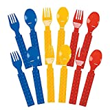 Best Funs For Parties - Fun Express Plastic Color Brick Party Fork Review