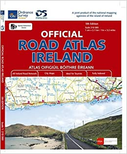 Osi Map Of Ireland.Official Road Atlas Ireland Irish Maps Atlases And Guides