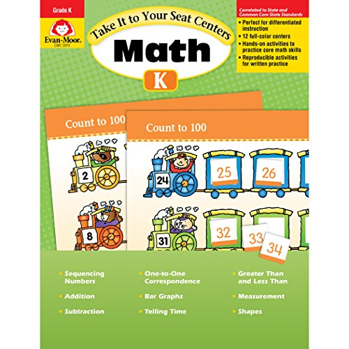 Take It to Your Seat Common Core Math Centers, Grade K (Take It to Your Seat Centers)