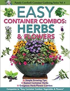 Easy Container Combos: Herbs U0026 Flowers (Pamela Crawfordu0027s Container ...