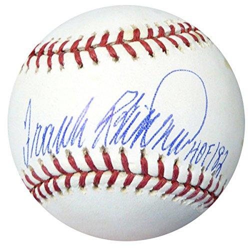 Frank Robinson Signed Mlb Baseball - 9