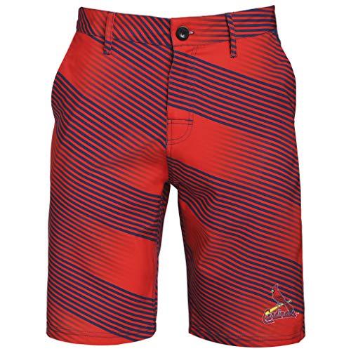 - Mens Diagonal Stripe Walking Shorts St Louis Cardinals (Large/36)