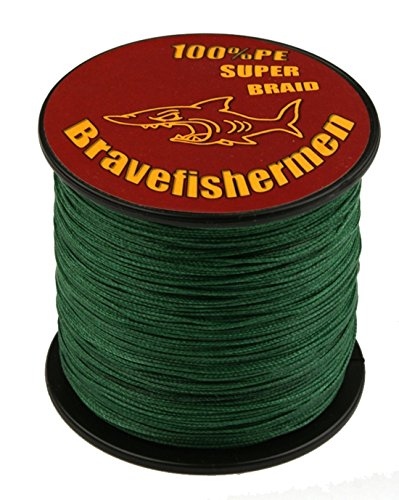Dark Green super strong PE braided fishing line