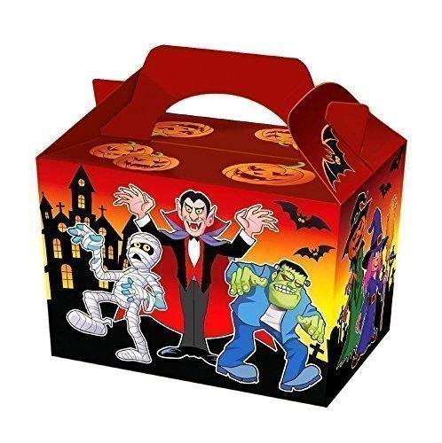 15 x Fiesta Halloween Comida / Invitar Cajas: Amazon.es: Hogar