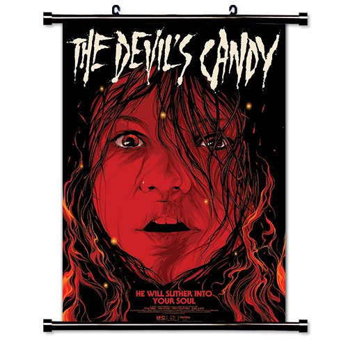 Candy Poster (The Devils Candy Movie Wall Scroll Poster (16x23) Inches)