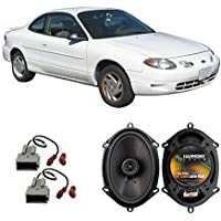 Fits Ford ZX2 1997-2004 Rear Deck Factory Replacement Speaker Harmony HA-R68 Speakers
