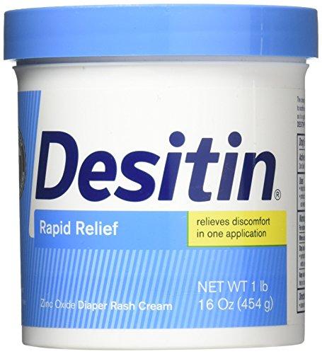 DESITIN Rapid Relief Diaper Rash Cream 16 oz by Desitin