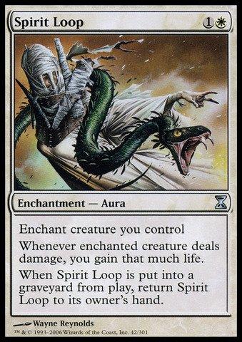 (Magic: the Gathering - Spirit Loop - Time Spiral)