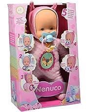 Nenuco de Famosa Muñeco Blandito 5 Funciones, Color Rosa (700013381)