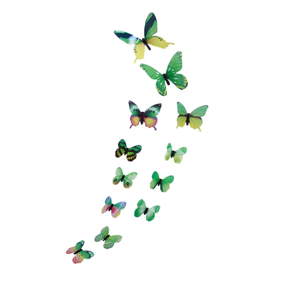 Elevin(TM)  3D DIY Wall Sticker Stickers Butterfly Home Decor Room Decorations New GN by Elevin(TM) _ Home Decor & Kitchen (Image #2)