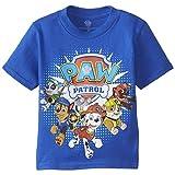 Paw Patrol Little Boys' Toddler Group T-Shirt, Royal, 4T