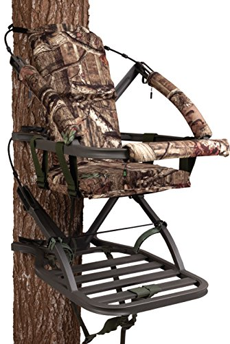 Summit Treestands Mini Viper SD Climbing Treestand, Mossy Oak (Stands Climbing Deer)