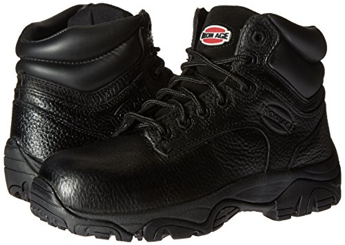 Iron Age Women's IA507 Trencher Fire and Safety Shoe, Black, 10.5 M US by Iron Age (Image #6)
