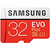 Samsung EVO Plus Micro SDHC 32GB bis zu 95MB/s, Class 10 U1 Speicherkarte (inkl. SD Adapter) [Amazon Frustfreie Verpackung]