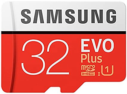 Samsung MicroSDHC - Tarjeta de Memoria de 32 GB - Amazon Exclusive Packaging