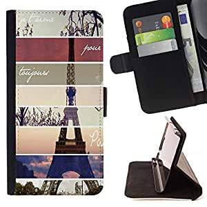 For Samsung GALAXY E5/E500F Case,Samsung Galaxy E5 Minimalist Arrows Style PU Leather Case Wallet Flip Stand Flap Closure Cover