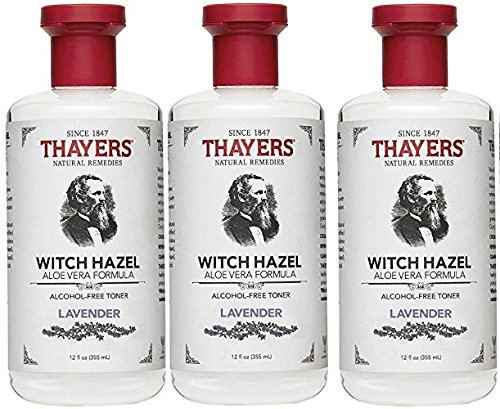 Thayers Alcohol-Free Toner, Lavender, Witch Hazel, 12-Ounces