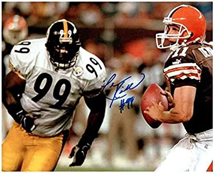 6aa9e5aef2f Levon Kirkland Autographed Signed Running After Browns 8x10 Photo -  Certified Authentic