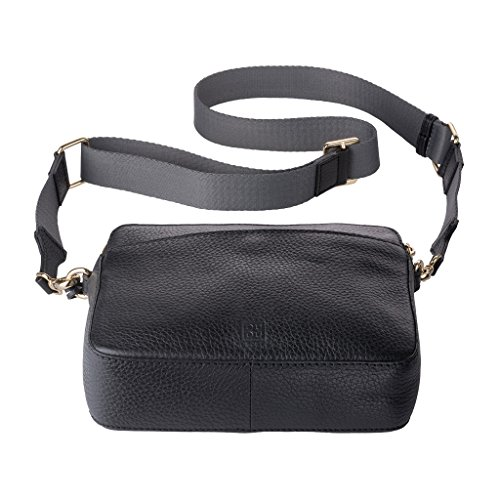 black Bag Shoulder Women's One DuDu Women's Shoulder Size DuDu black Pp0Cxfn