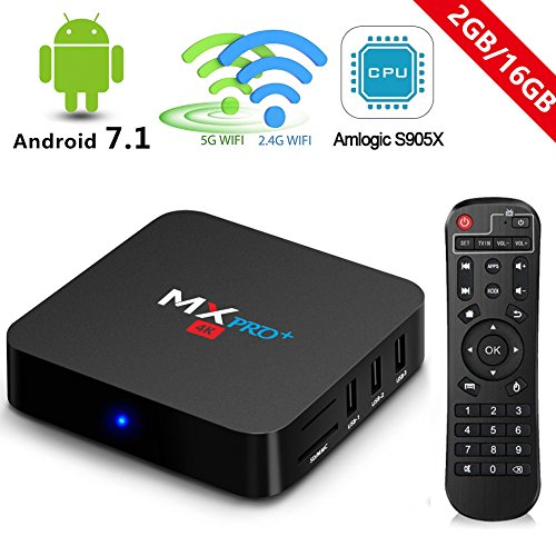 Top 10 best amlogic s905x android box for 2019