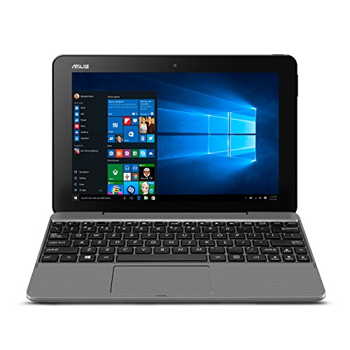 ASUS Transformer Book T101HA-C4-GR 10.1-Inch 2-in-1 Ultraportable Laptop with Intel Core X5 1.44 GHz 4GB 64GB HD Windows 10 Touchscreen, Gray (Transformer Asus Laptops)