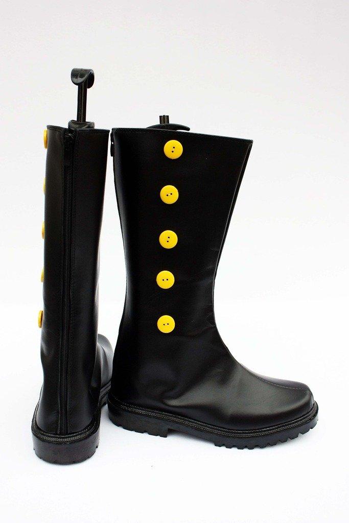 Telacos Black Butler Kuroshitsuji Doll Maker Drocell Caines Cosplay Shoes Boots Custom Made