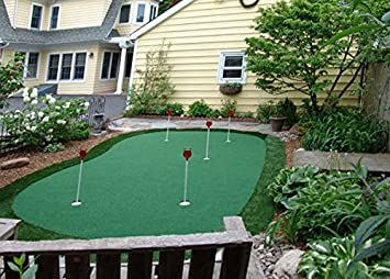 StarPro 15ft X 28ft 5 Hole Professional Practice Putting Green U0026quot;Best  In The